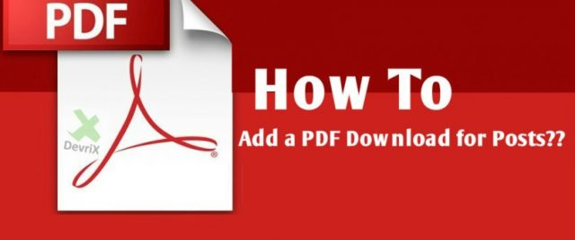 How to Add a Downloadable PDF to your WordPress Site | Imp. Steps