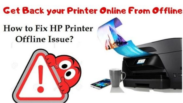 Easy way to Get Back Your Printer Online From Offline