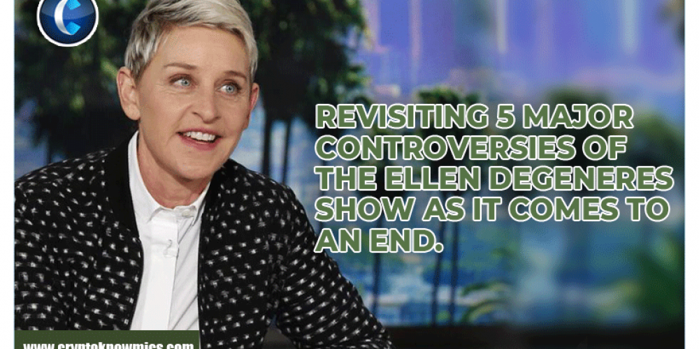 Revisiting 5 Major Controversies of the Ellen DeGeneres show as it comes to an End