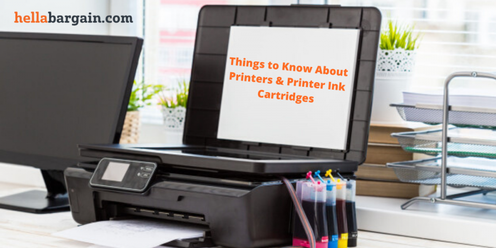 Things to Know About Printers and Printer Ink Cartridges