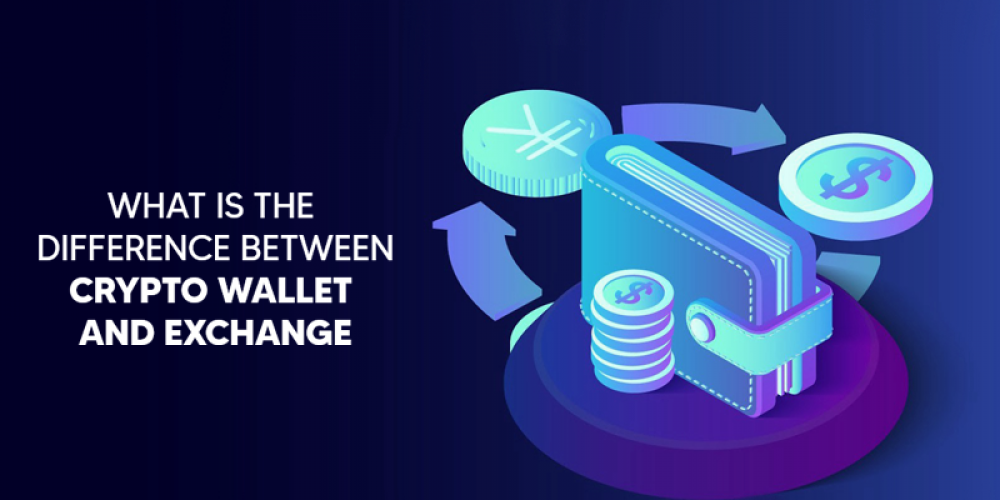 What Is The Difference Between An Exchange And Crypto Wallet?