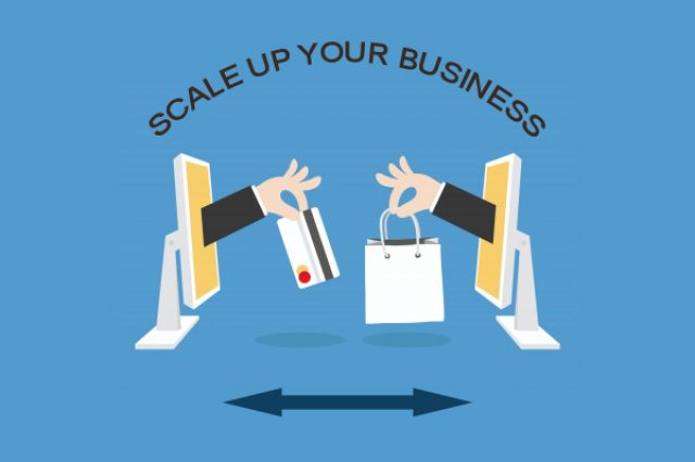 Which is the best way to scale up a business?
