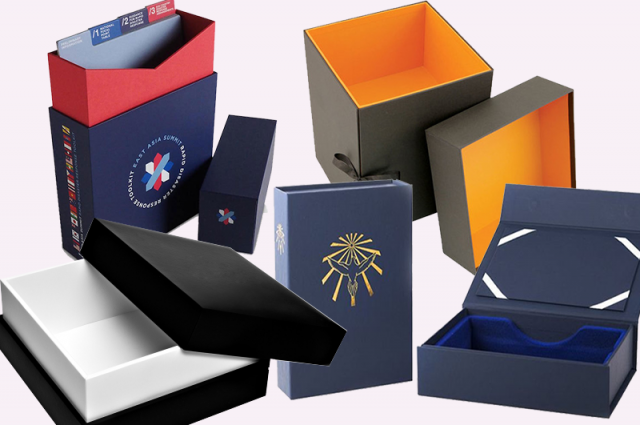 Custom Rigid Packaging Boxes' Printing for Luxury Products