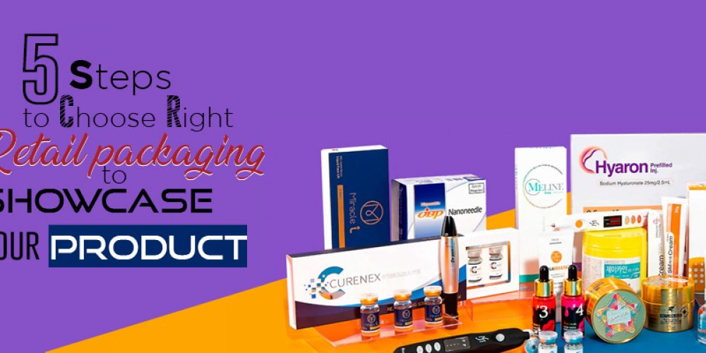 5 Step To Choose Right Retail Packaging To Showcase Your Product.